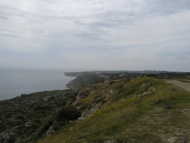 Portland Bill, as seen from the Grove