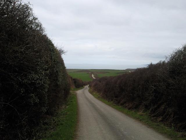 The coast road nera High Cliff