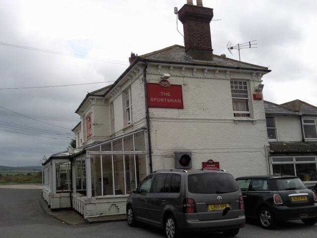 The Sportsman pub, Seasalter
