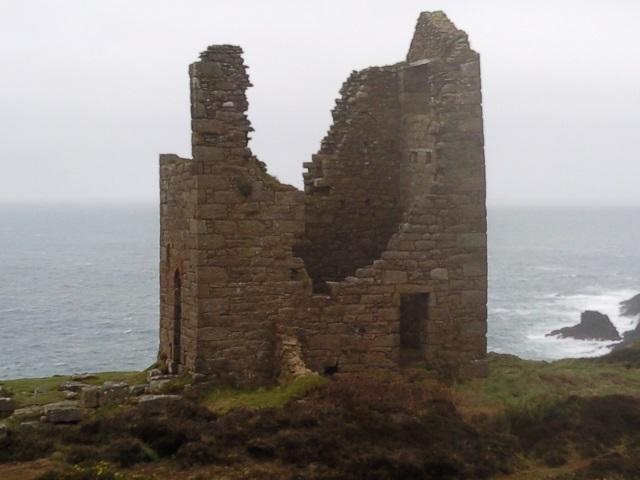 Ruins of Wheal Edward pump house