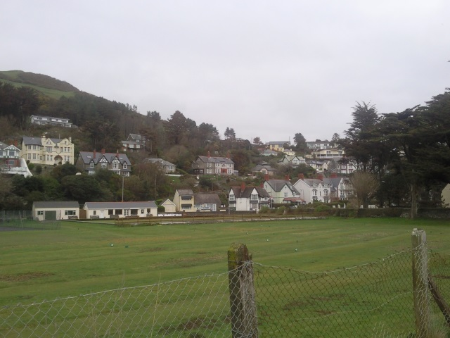 Aberdovey from the station