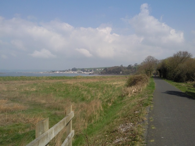 Instow, seen from some distance upstream