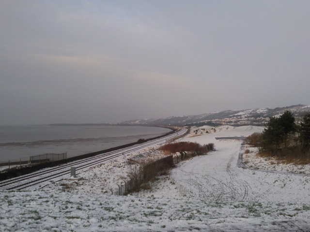 View towards Burry Port from Llanelli