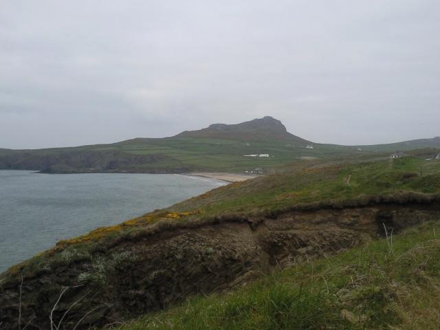 Whitesands Bay and Carn Llidi