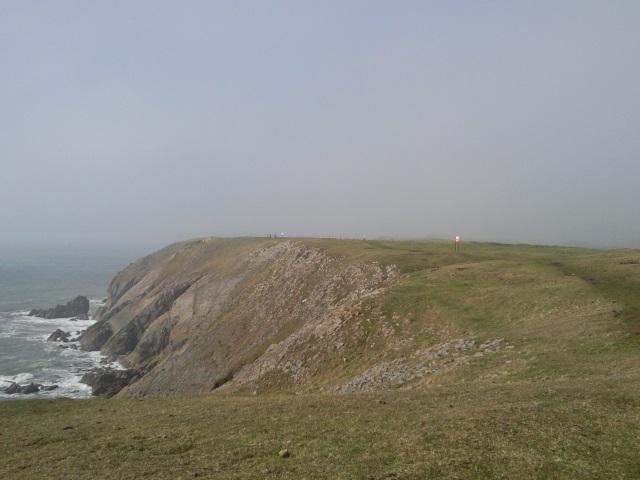 Cliffs near Penally