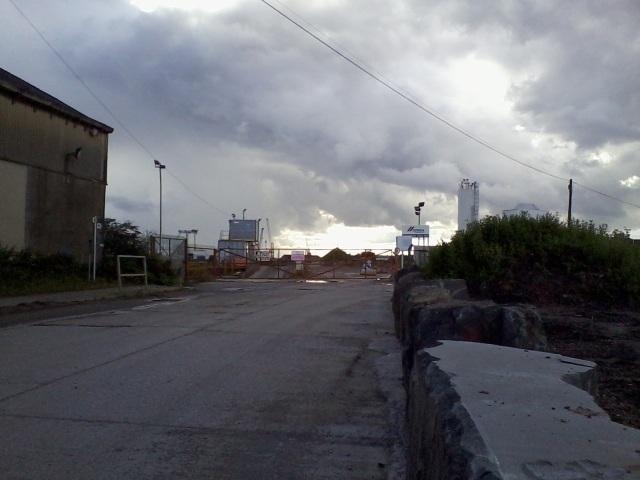 Industrial estate in Newport