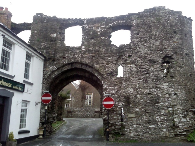 Outer Gatehouse of Kidwelly castle