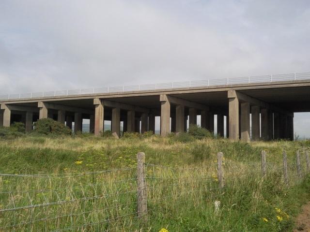 M4 motorway bridge, Kenfig Burrows