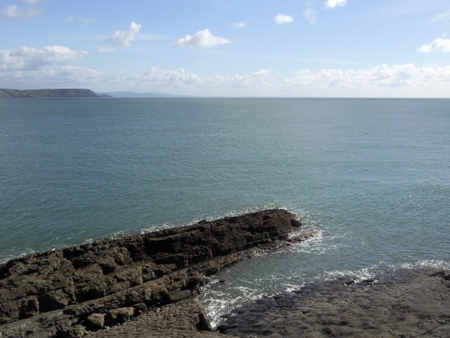 View from Oxwich Point