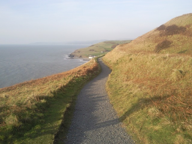 Path to Clarach Bay