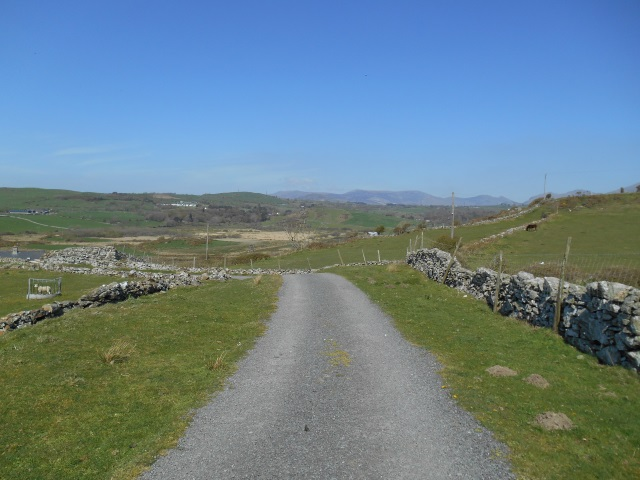 The road from Black Rock Sands