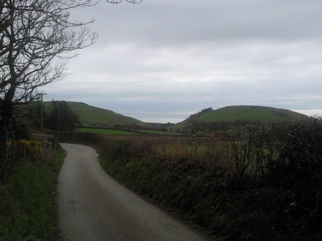 Road near Rhoslefain