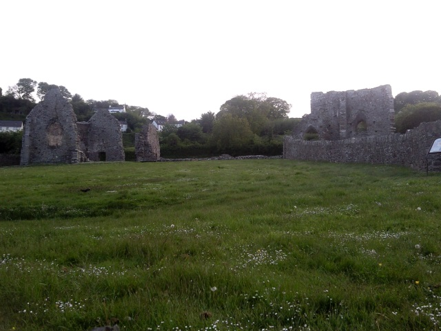St Dogmaels Abbey ruins