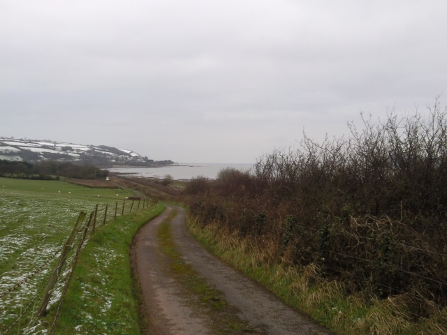 Towy Estuary and the sea