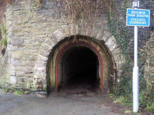 Dramway tunnel entrance