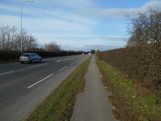 The A59 or Liverpool Road