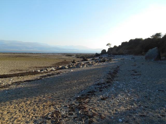 Beach near Lleiniog