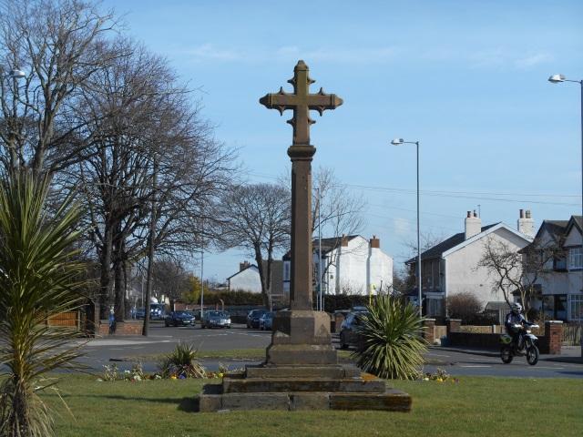 Formby Memorial Cross