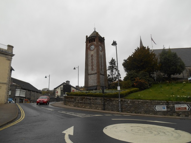 Grange-over-Sands clock tower