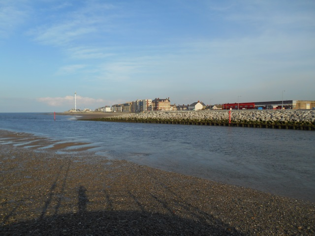 Rhyl from Kinmel Bay