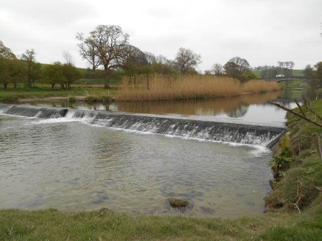 Weir on the River Bela