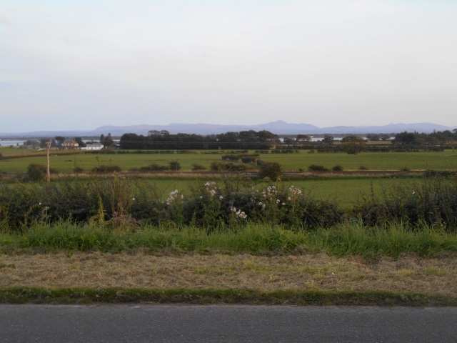 View across the Solway from the outskirts of Annan