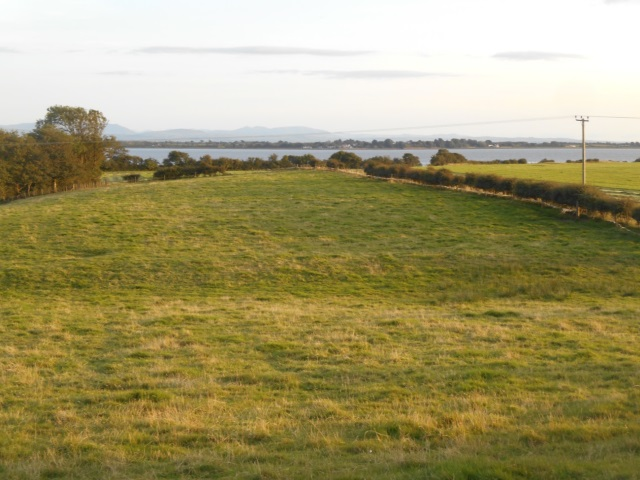 Bowness-on-Solway as seen from Dornock
