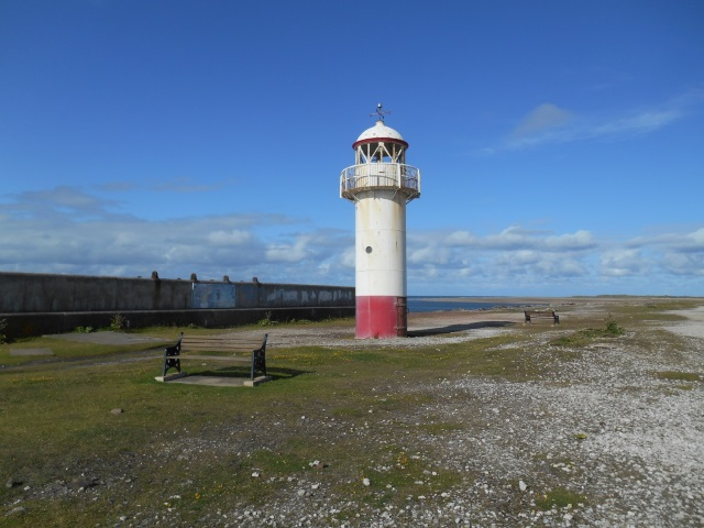 Hodbarrow Point Lighthouse