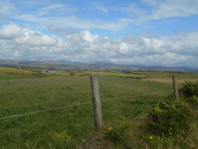 Distant fells, seen from near Nethertown