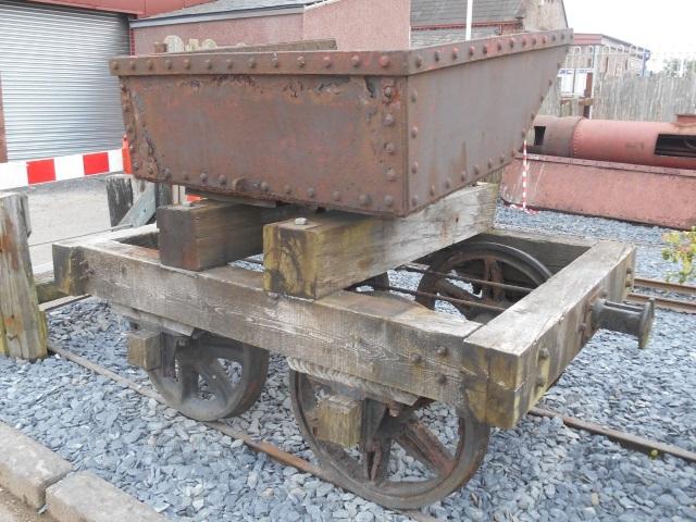 narrow gauge ore wagon