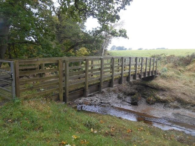 Footbridge over Drummillan Pow