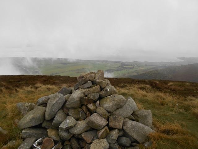 A cairn atop Knockendoch