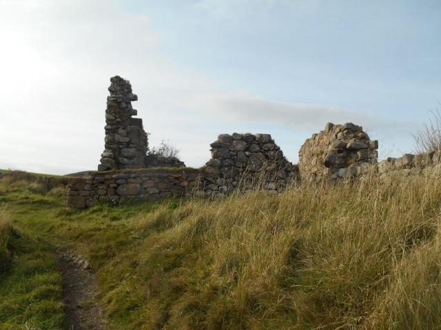 The ruins of Glenstocking cottage