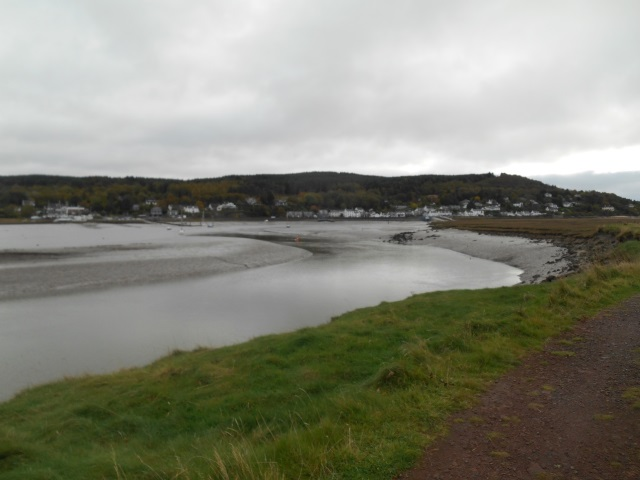 Looking across Rough Firth to Kippford