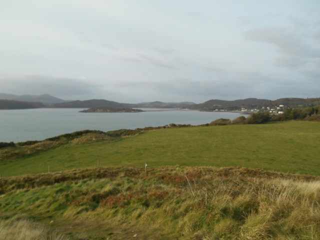 Looking up Rough Firth to Rockliffe and Screel