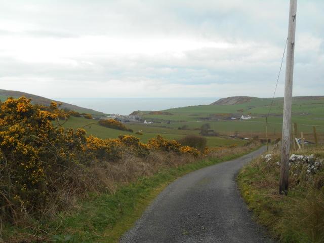 Approaching Castle Clanyard