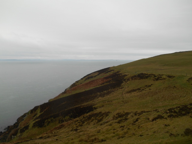 Coastal slope approaching the mull