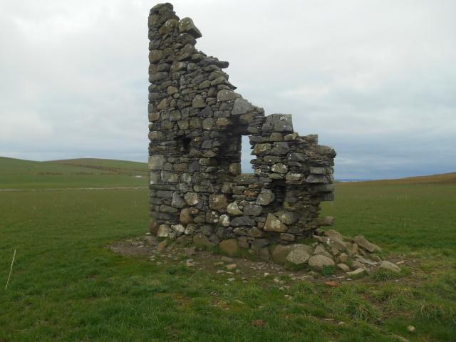 Castle Clanyard ruins