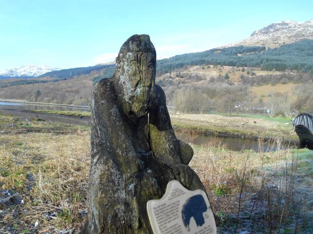 Bodach sculpture