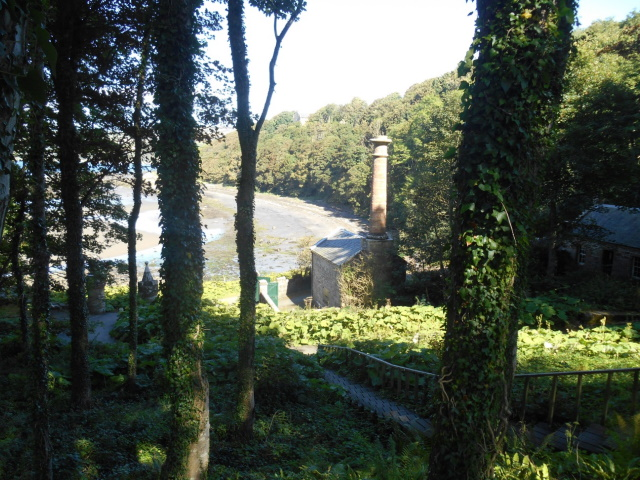 Castle gasworks with Culzean Bay behind