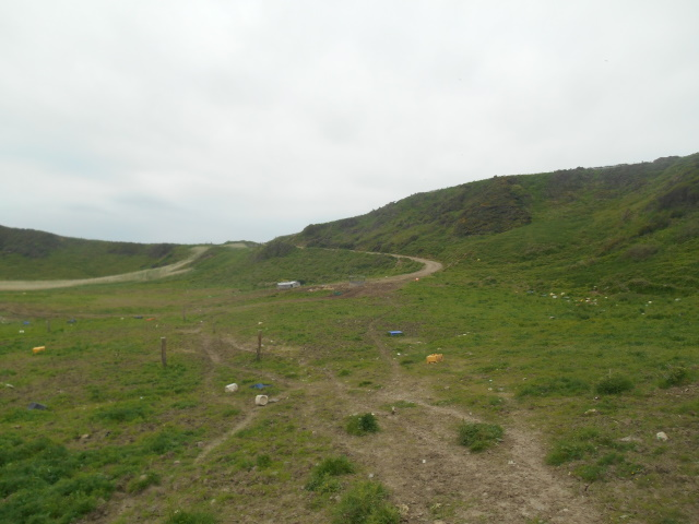 track leading out of Drumbreddan Bay