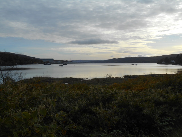 Gare Loch from the head of the loch