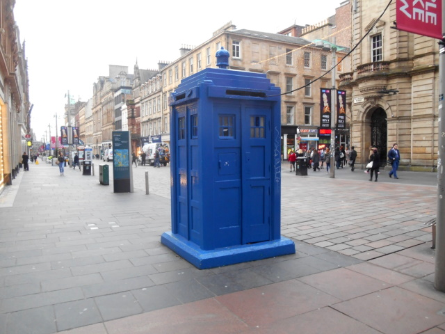 Buchanan Street police box
