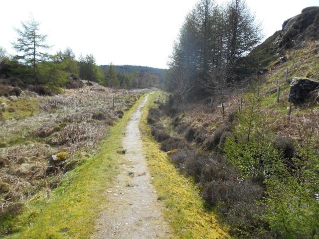 KIntyre Way near Tarbert Castle