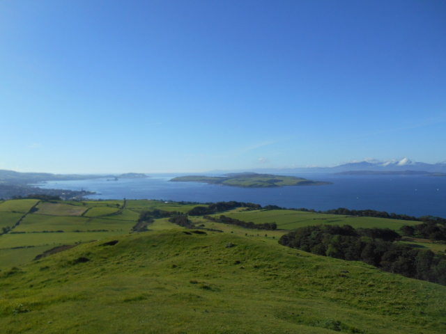 View south from Knock Hill over Largs Bay