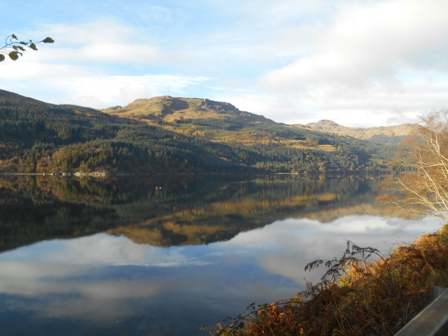 Calm and reflective waters on Loch Long