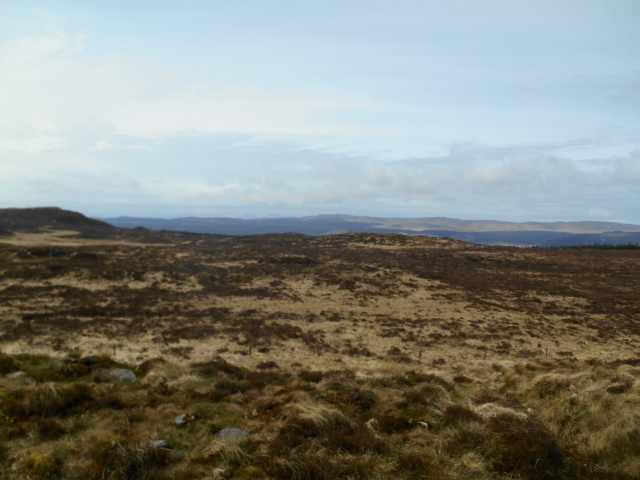 open moorland