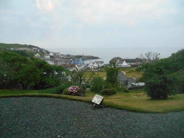 Portpatrick Harbour from the hillside