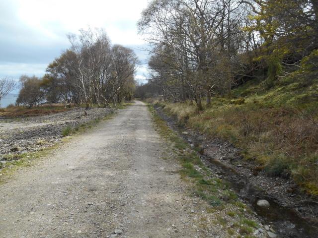 Road towards North Sannox