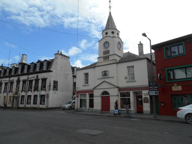 Stranraer's old town hall